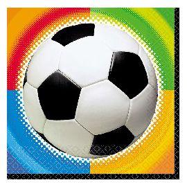 Servilletas campeonato futbol (16 unid.)
