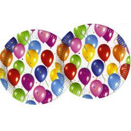Platos globos (10 unid.)