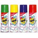 Spray serpentina colores