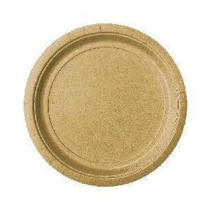 Platos oro 24 cm (10 unid.)