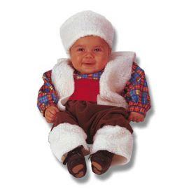 Disfraz bebe pastor