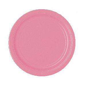 Platos rosa pastel 22,5 cm (10 unid.)