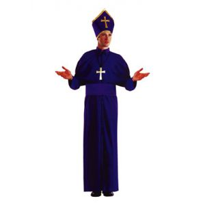 Disfraz obispo