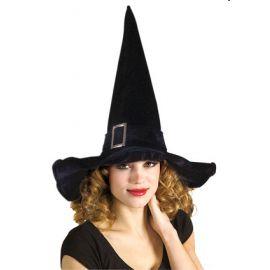 Sombrero bruja hebilla
