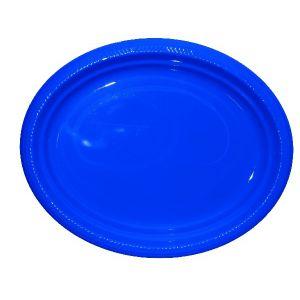 Bandeja ovalada azul marino (5 unid)