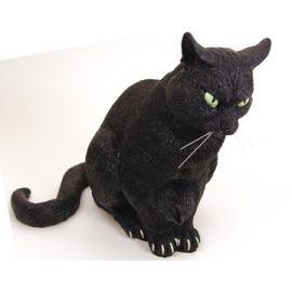 Gato negro 30 cm