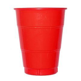 Vaso grande rojo (10 unid)
