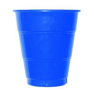 Vaso grande azul marino (10 unid)