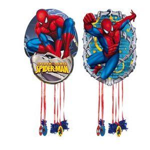Piñata spiderman surtida (mediana)