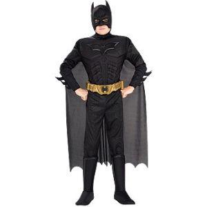 Disfraz batman dark knight musculo niño