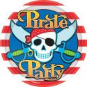 Platos piratas (8 unid)