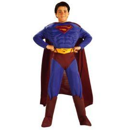 Disfraz superman musculoso niño