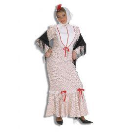 Disfraz chulapa adulto deluxe