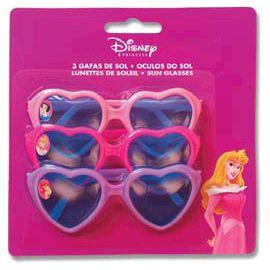 Gafas princesas disney (pack 3 uds)