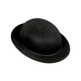 Sombrero bombin flocado niño