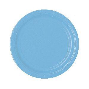 Platos azul pastel 22,5 cm (10 uds)