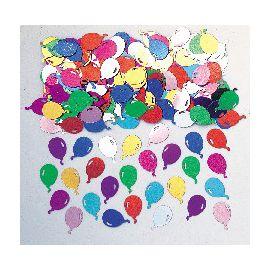 Confetti globos colores