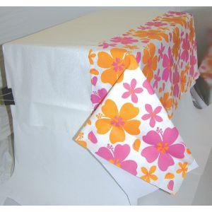 Mantel hibiscus rosa