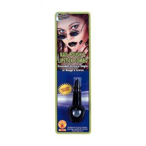 Pintalabios-uñas negro