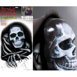 Decoracion pared 3d calavera