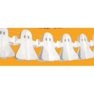 Guirnalda figura fantasmas 4 m.