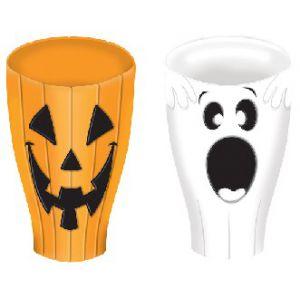 Vaso halloween surt.