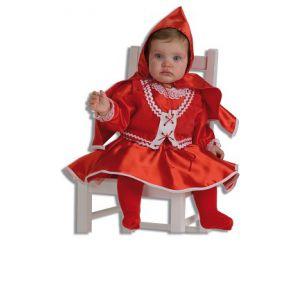 Disfraz bebe caperucita roja