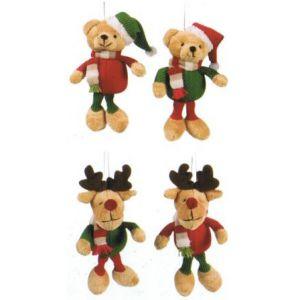 Muñecos reno navidad