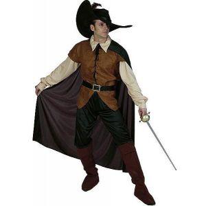 Disfraz espadachin adulto