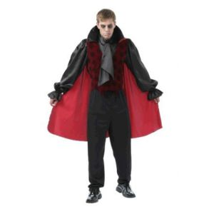 Disfraz vampiro gotico