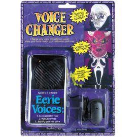 Distorsionador de voz halloween