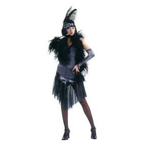 Disfraz charleston negro