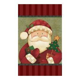 Mantel cozy santa
