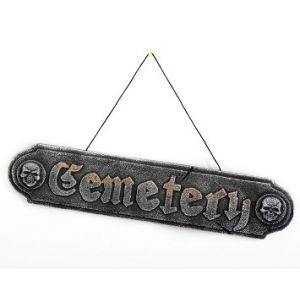 Cartel cementerio