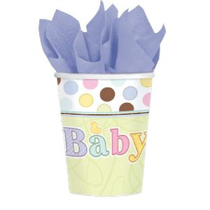 Vasos baby shower (18 uds)