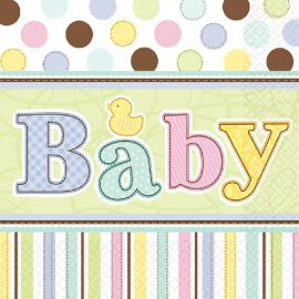 Servilletas baby shower (36 uds)