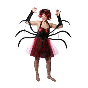 Disfraz mujer araña