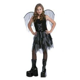Disfraz hada oscura infantil