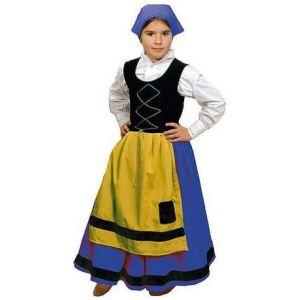 Disfraz pastora bt azul
