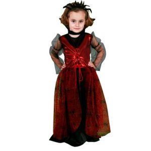 Disfraz vampiresa aracnida niña