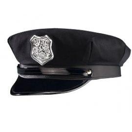 Sombrero policia negro bt