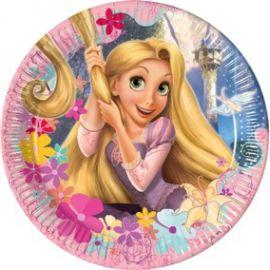 Platos princesa rapunzel (10 uds)