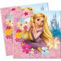Servilletas princesa rapunzel (20 uds)