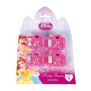 Camaras princesas (pack 4 unid)