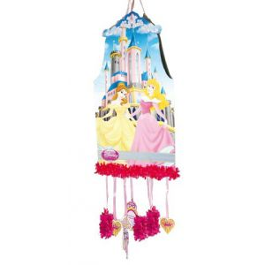 Piñata princesas disney grande castillo