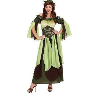 Disfraz medieval madre naturaleza