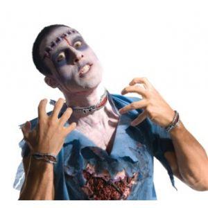 Set cremallera sangrante zombie