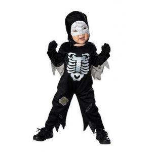 Disfraz skeleton 1-2 años
