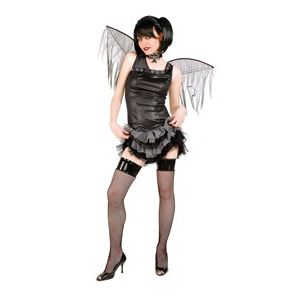 Disfraz gotica punk con alas