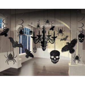Kit decoracion colgantes halloween